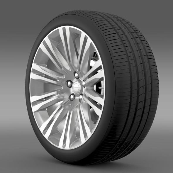 Chrysler 300C 2012 wheel - 3DOcean Item for Sale
