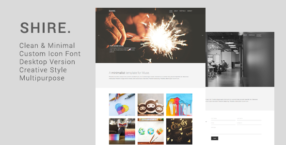 Shire – Creative Muse Template