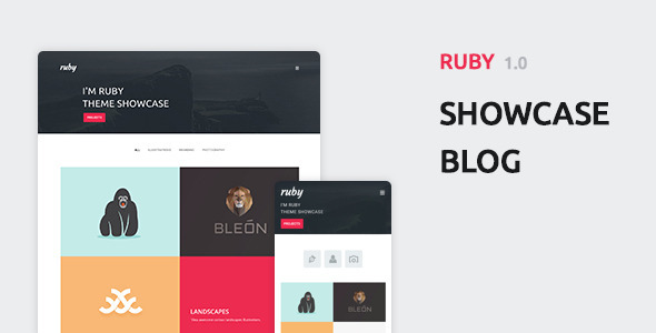 Ruby – Personal Portfolio and Blog