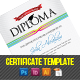 Diploma Certificate Template - GraphicRiver Item for Sale