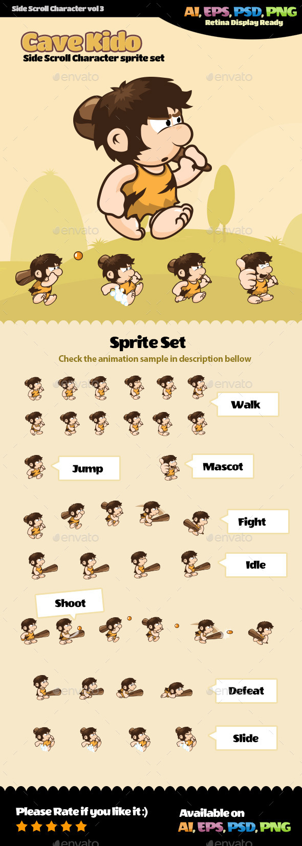 Side Scroll Character Vol 03