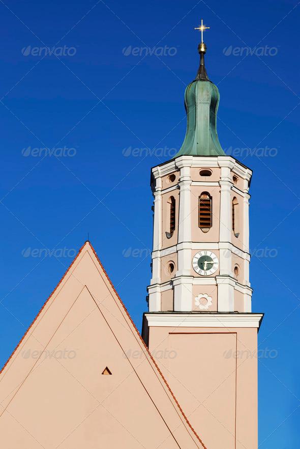 Bavarain Church - Stock Photo - Images