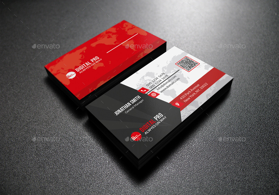 Modern Business Card by far_star60 | GraphicRiver