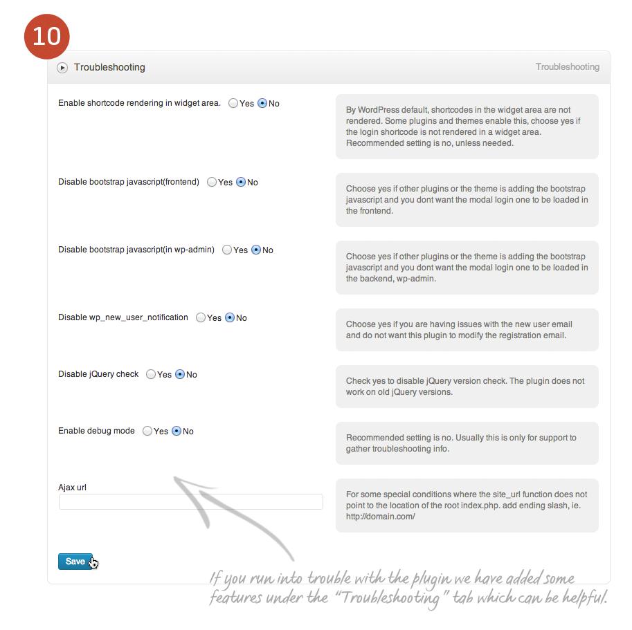 Modal Log In for WordPress