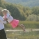 Little Girl Running To Father And He Turns Her In - VideoHive Item for Sale