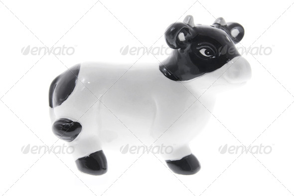 Cow Ornament - Stock Photo - Images