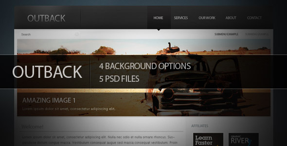 Free Download Outback Psd Theme Nulled Latest Version