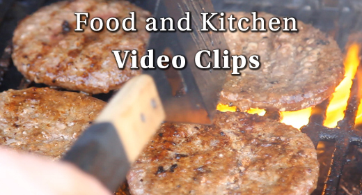 Food & Kitchen Video Clips
