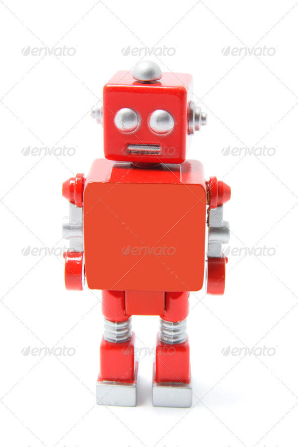 Toy Robot - Stock Photo - Images