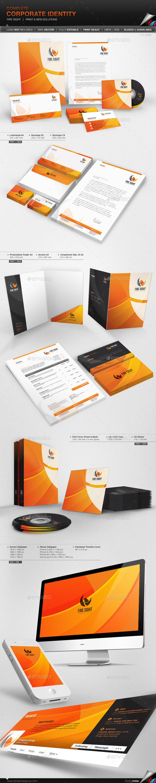Corporate Identity - Fire Sight - Stationery Print Templates