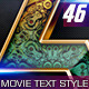 46 Movie Text Style Bundle