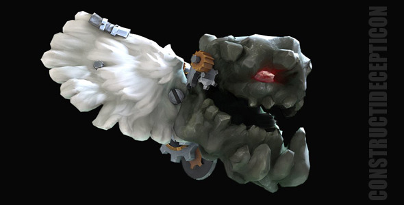 Handpainted Lowpoly  Cog_Troll - 3DOcean Item for Sale