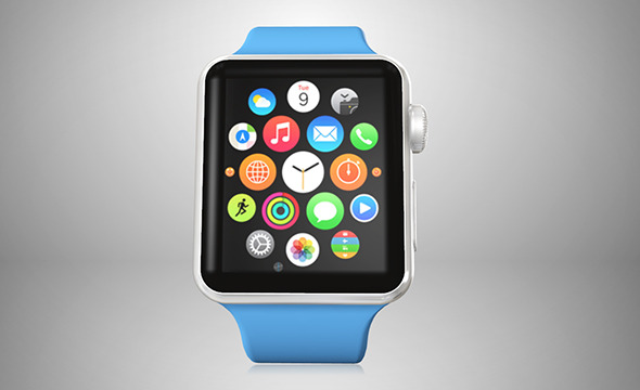 Apple Watch for Element3d - 3DOcean Item for Sale
