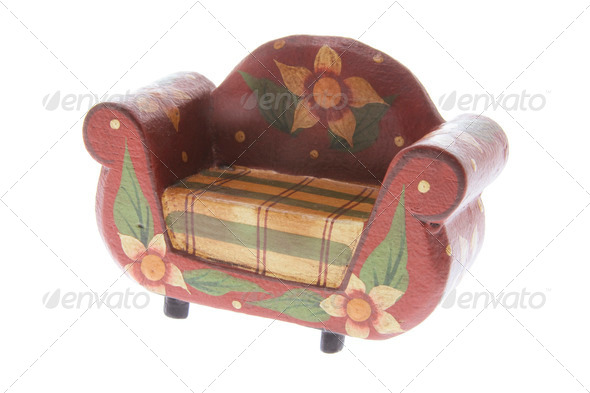 Miniature Couch - Stock Photo - Images