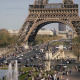 Eiffel Tower With Gardens Of The Trocadero 4 Paris - VideoHive Item for Sale