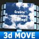 3D move presentation! - VideoHive Item for Sale