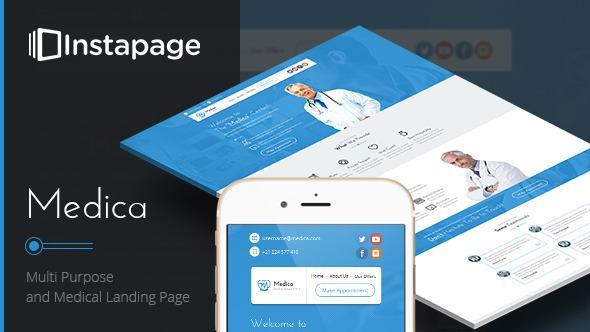 Medica - Instapage Medical Landing Page - Instapage Marketing