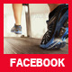 Running Shoes Facebook Cover