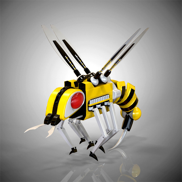 Robobee - 3DOcean Item for Sale