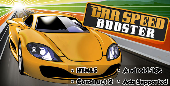 Car Speed Booster - HTML5 Android (CAPX) - 36
