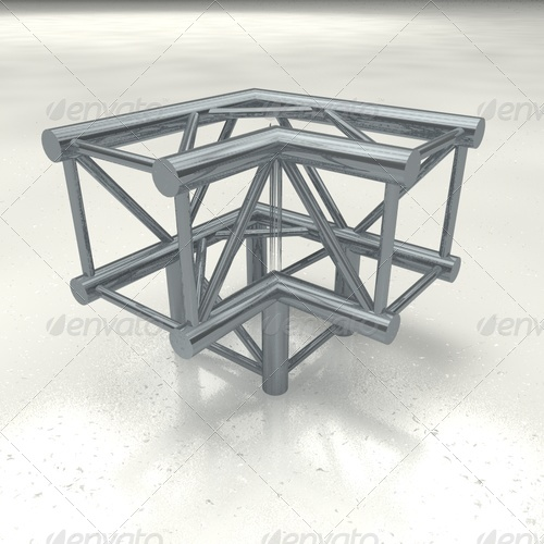 truss quattro corner + - 3DOcean Item for Sale