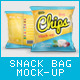 Snack Bag Mockup - GraphicRiver Item for Sale