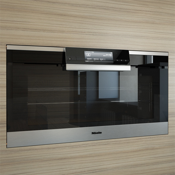 Miele H6890BP Oven 90 cm - 3DOcean Item for Sale