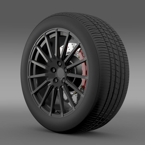 Subaru BRZ STI wheel - 3DOcean Item for Sale