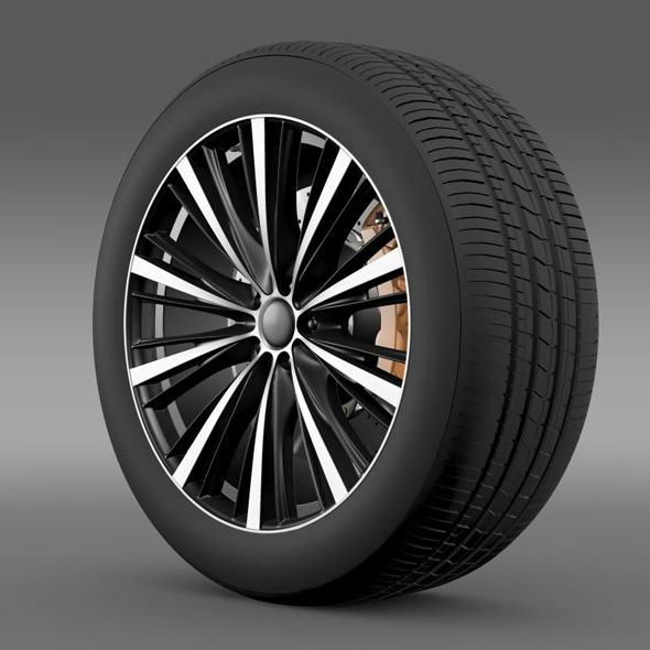 Toyota FT 86 open concept wheel 2014 - 3DOcean Item for Sale