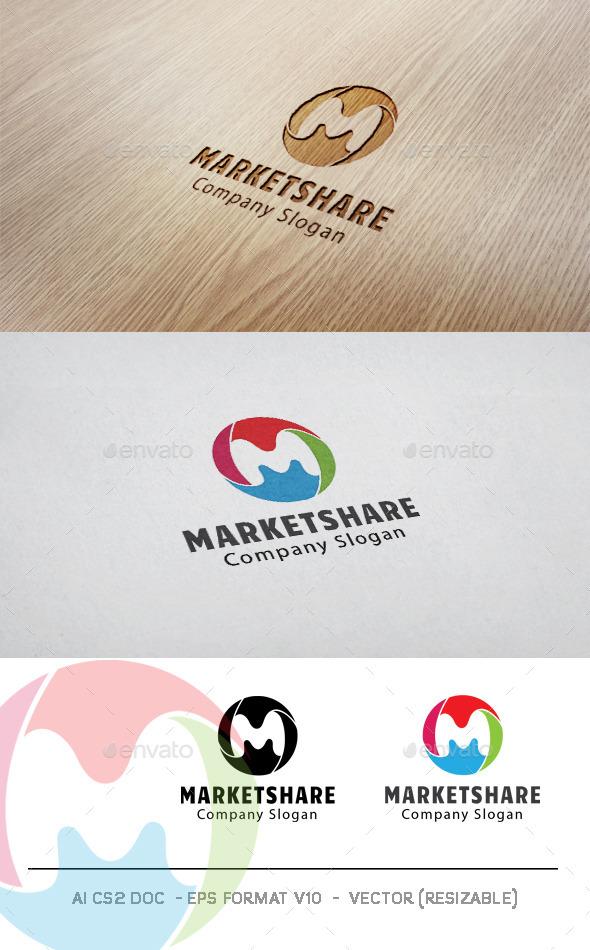 Marketshare Logo - Symbols Logo Templates