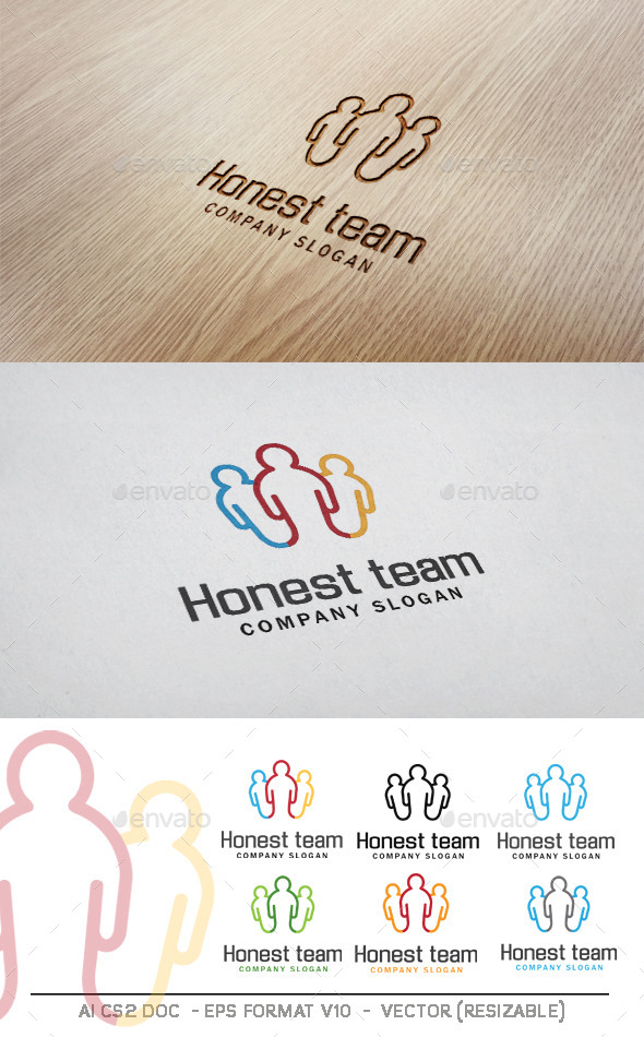 Honest Team Logo - Humans Logo Templates