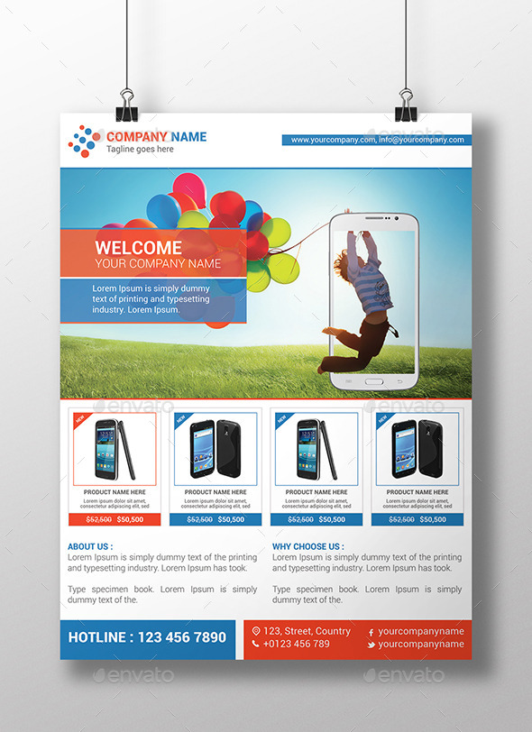 product promotion flyer template commerce flyers preview image set01_screenshotjpg