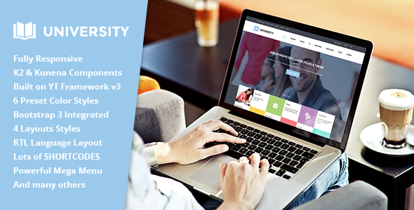 University II – Multipurpose Education Template