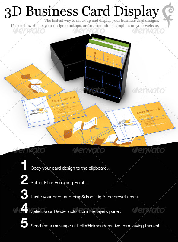 3D Business Card Display - Business Cards Print