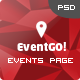 EventGo - Onepage Event Landing Page Nulled