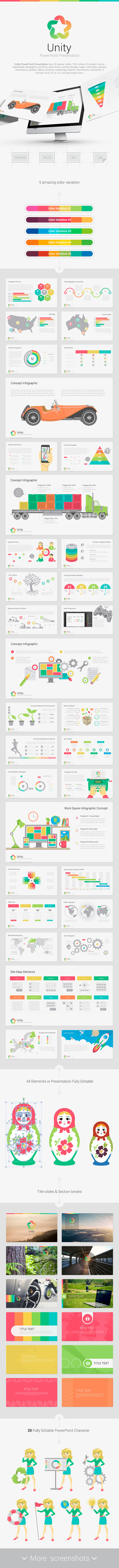 Unity powerpoint by site2max graphicriver unity powerpoint creative powerpoint templates toneelgroepblik Gallery