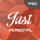 Just  - One Page Web Templates Design Nulled