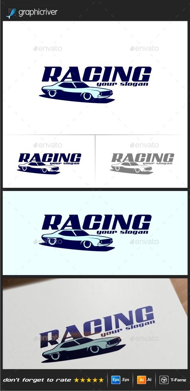 Racing Logo Templates - Objects Logo Templates