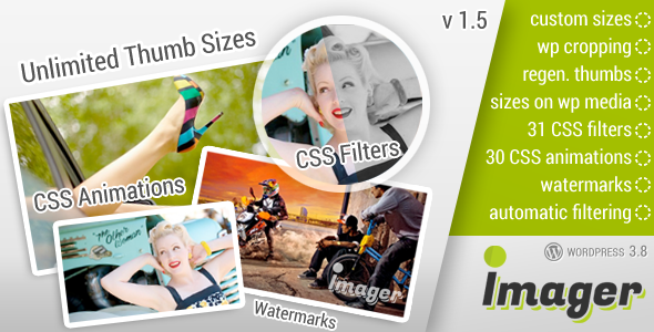 Imager – Amazing Image Tool for WordPress - CodeCanyon Item for Sale