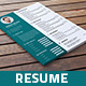 3 Page Resume - GraphicRiver Item for Sale
