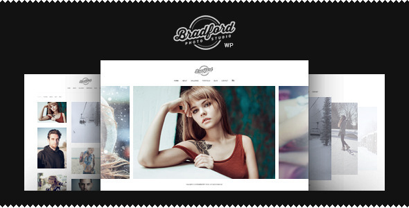 Bradford – Photographer Portfolio WordPress Theme