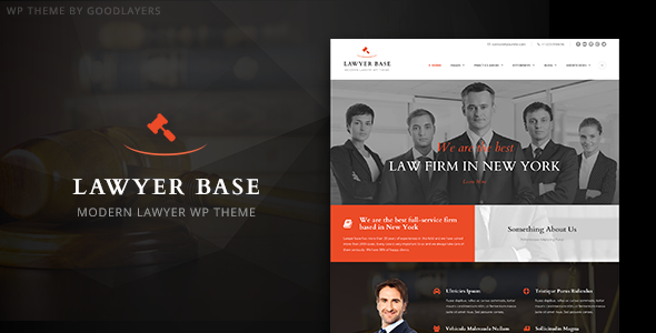 Lawyer Base - Lawyers Attorneys WordPress Theme - Business Corporate
