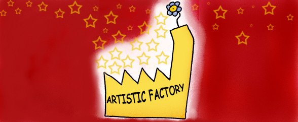 Artistic factory color star