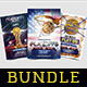 Basketball Flyer Bundle Vol. 12 - GraphicRiver Item for Sale