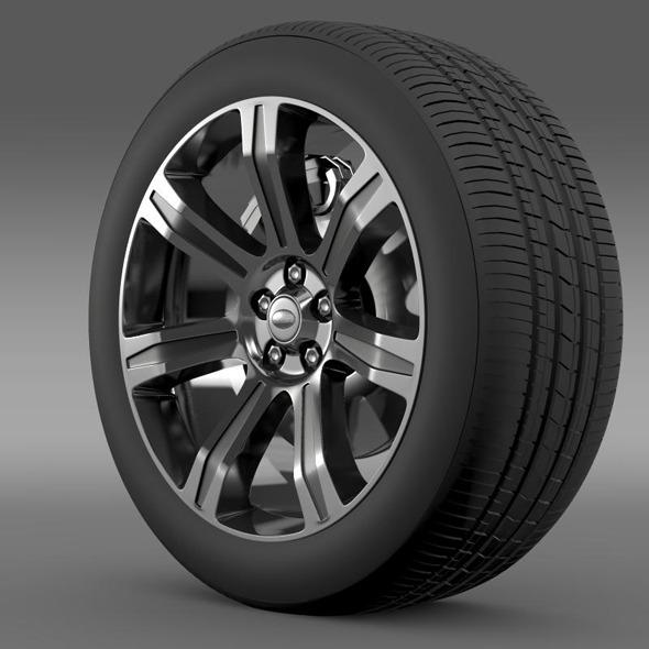 RangeRover Autobiography black wheel - 3DOcean Item for Sale