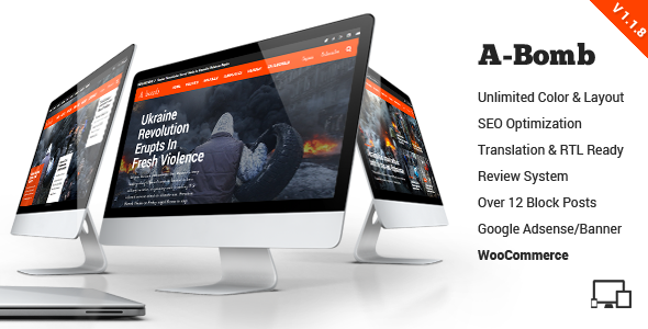 A-Bomb | News & Blog & Magazine Theme