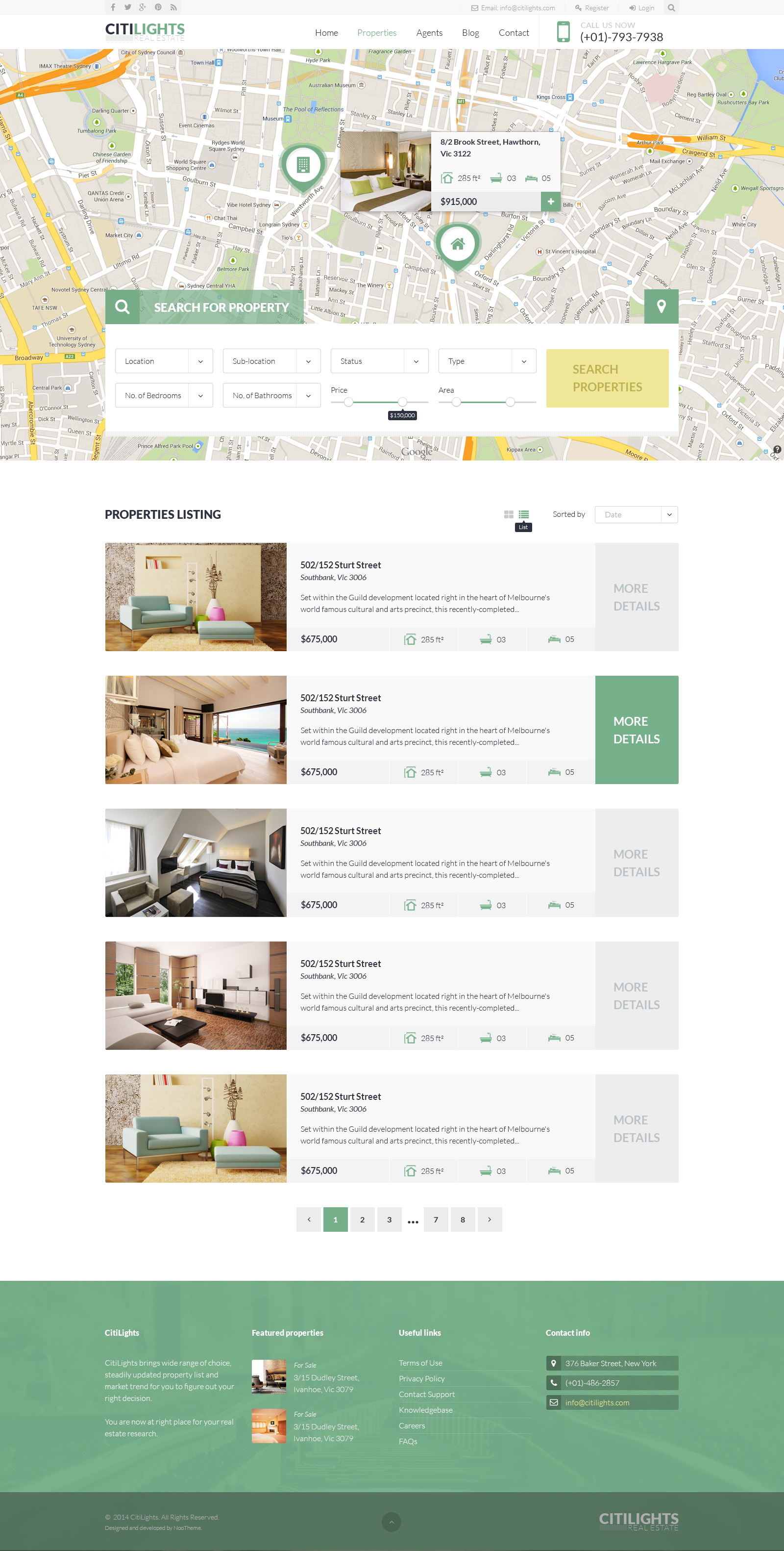 real estate listing template