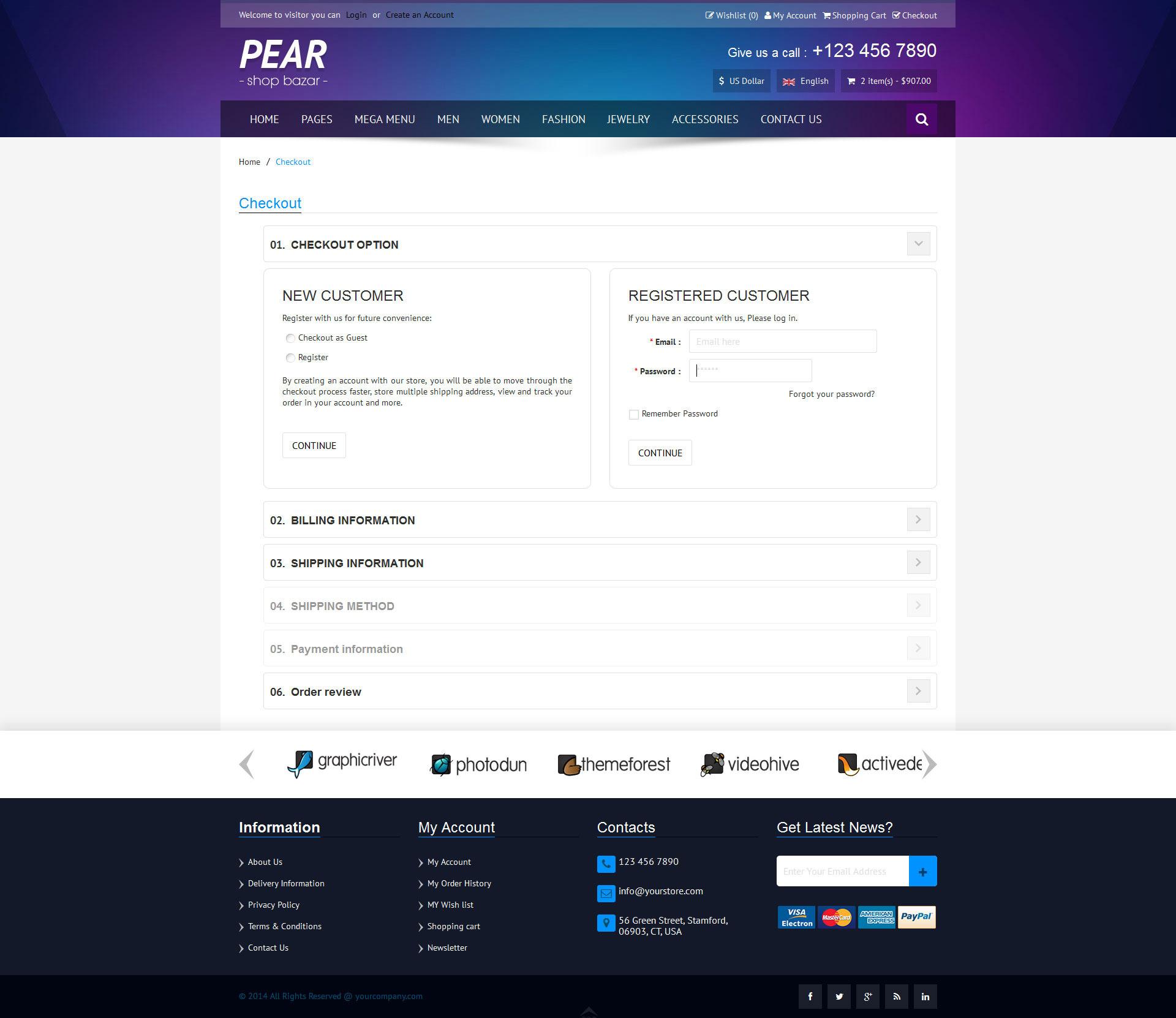 Pear - Responsive E-Commerce HTML Template V1 2