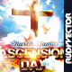 Ascension Day Church Service Flyer - GraphicRiver Item for Sale