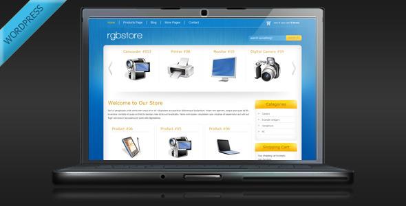 RGBStore – Online Store WordPress Theme